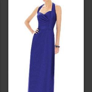 ⚡️FLASH SALE Halter Navy Long Formal Dress